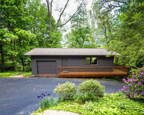 Best Frank Lloyd Wright Inspired Garage And Shed Design