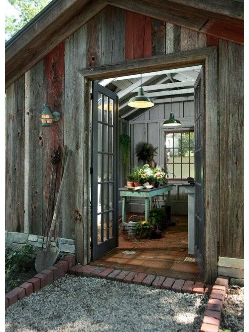 landhausstil ger teschuppen ideen design bilder houzz. Black Bedroom Furniture Sets. Home Design Ideas