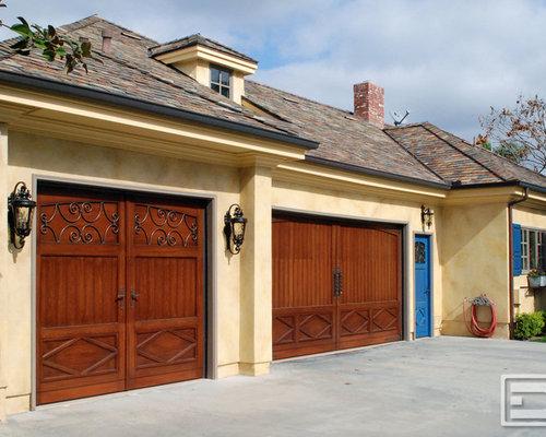 French garage doors houzz for French garage doors