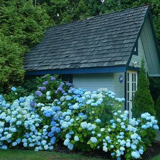 Foto di un capanno da giardino o per gli attrezzi tradizionale