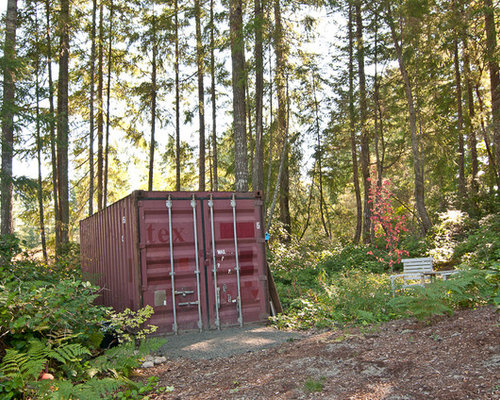 Shipping Container Garage And Shed Design Ideas Pictures