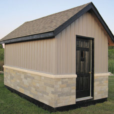 Traditional Garage And Shed by Fusion Stone