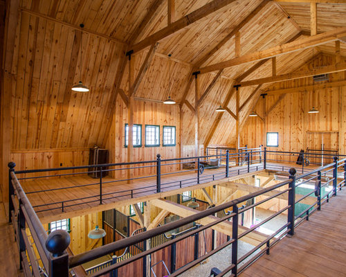 Barn loft houzz for Barn loft homes
