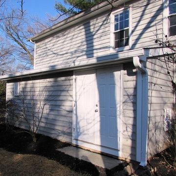 Garage addition for kayak storage in Gaithersburg, MD