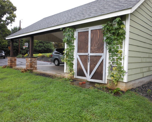 Attached Carport | Houzz