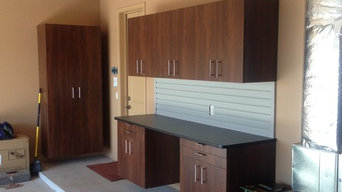 Garage Cabinetry &Bicycle Racking System Sabino Canyon Area
