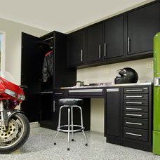 Industrial Garage And Shed by Challenger Designs