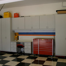 Contemporary Garage And Shed by Cabinets Plus
