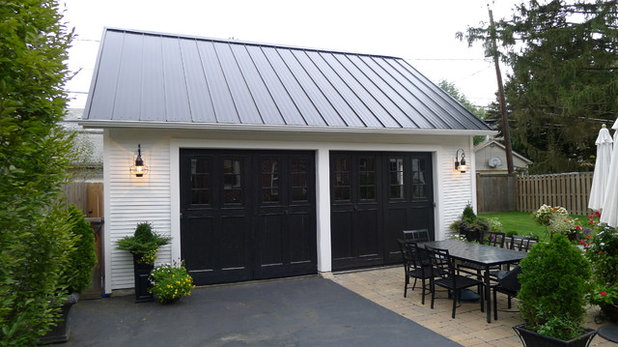 Traditional Shed Garage Conversion