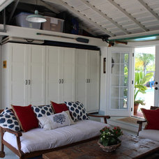 Traditional Garage And Shed Garage Conversion
