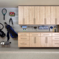 Modern Garage And Shed by Custom Closet & Garage, Terry Hill