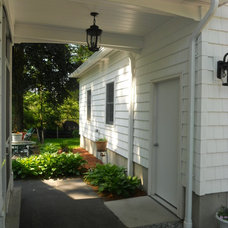 Traditional Garage And Shed by DBDB Construction, LLC