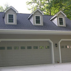 Traditional Garage And Shed by Sterling Property Services