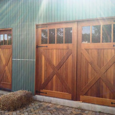 Garage And Shed by Clingerman Doors - Custom Wood Garage Doors