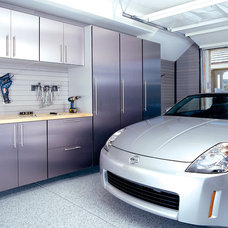 Modern Garage And Shed by Garage Envy