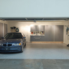 Contemporary Garage And Shed by Tailored Living North Vancouver