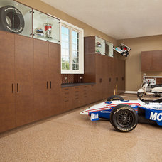 Modern Garage And Shed by Closet Classics of Andover