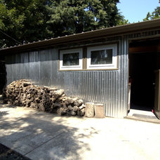 Midcentury Garage And Shed by John Prindle