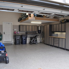Modern Garage And Shed by Garage Living Inc.