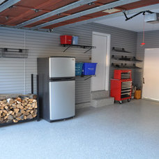 Modern Garage And Shed by Garage Living