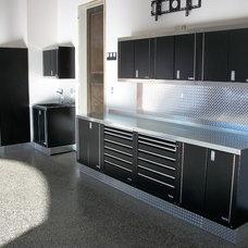 Modern Garage And Shed by Zone Garage