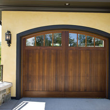 Mediterranean Garage And Shed by Marie Meko, Allied ASID