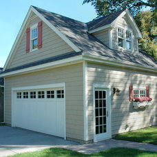Traditional Garage And Shed by Bridgewater
