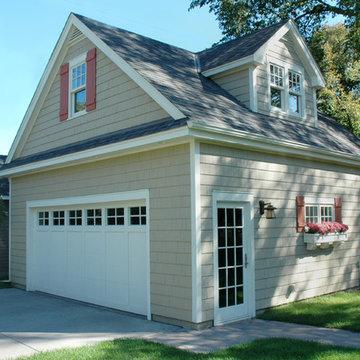 Garage Remodel Adds Second Floor Apartment