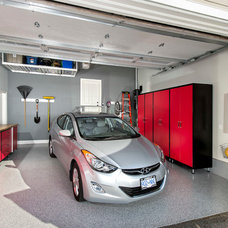 Modern Garage And Shed by Forged Racks
