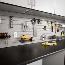 Contemporary Garage And Shed by Closet & Storage Concepts