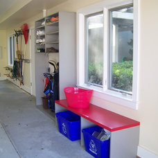Modern Garage And Shed by Expert Closets - Nancy Langway