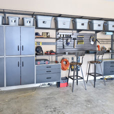 Contemporary Garage And Shed by Organized Living