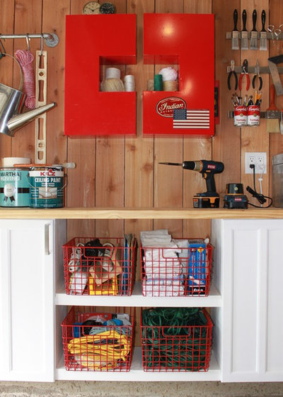 Eclectic Shed by The Cavender Diary