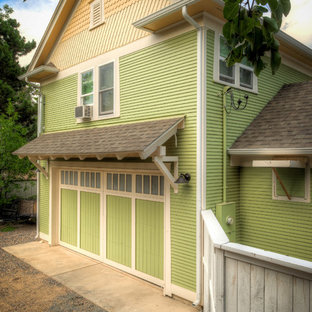 Example of an arts and crafts shed design in Denver