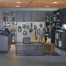 Contemporary Garage And Shed by California Closets