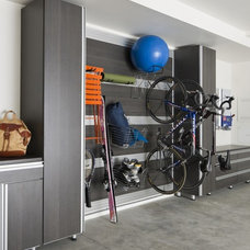 Modern Garage And Shed by California Closets of Louisville and Lexington
