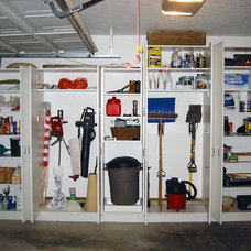 Contemporary Garage And Shed by Closet Factory - Cleveland