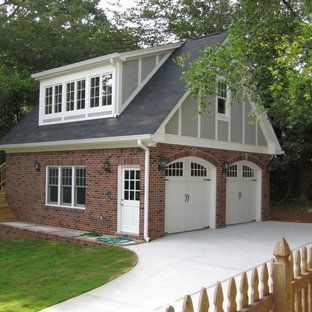 Design ideas for a classic garden shed and building in Atlanta.