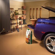 Traditional Garage And Shed by storeWALL