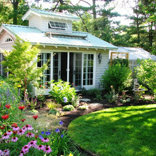 Traditional Garage And Shed by Garden Tech Horticultural Services LLC