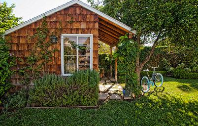 Kleine Fluchten: 25 idyllische Gartenhäuschen im Grünen
