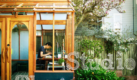 Studio Solution: A Kit Greenhouse Becomes a Creative Private Office