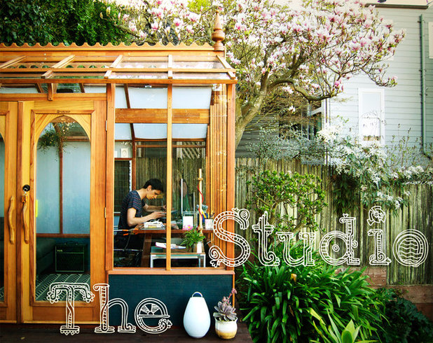 Contemporary Shed Garden Studio