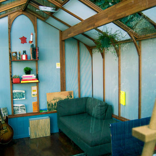 Inspiration for a contemporary shed remodel in San Francisco