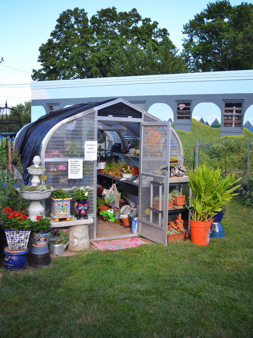 Inspiration For An Eclectic Detached Garden Shed Remodel In Philadelphia
