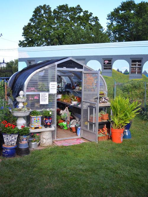 Garden Shed Greenhouse | Houzz