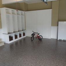 Modern Garage And Shed by Granite Garage Floors