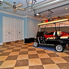 Traditional Garage And Shed by J.P. DiMisa & Associates Luxury Homes