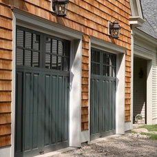 Farmhouse Garage And Shed by Fine Lines Construction