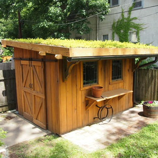 EmailSave. Green Roof Garden Shed · Graham Design And Construction